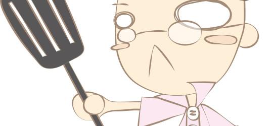 北海道の『ぎょうざ屋 こころ』のイメージキャラクター『ぎょうざおじさん』のデザインをさせていただきました。